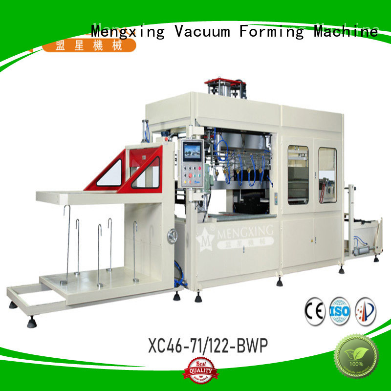Mengxing fully auto pp vacuum forming machine favorable price lunch box production