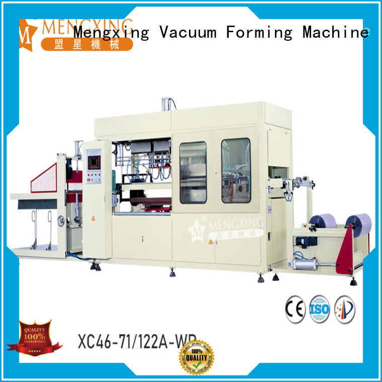 Mengxing custom vacuum forming machine for sale industrial lunch box production