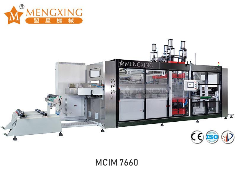 Automatic vacuum pressure forming machine 2 station MCIM7660