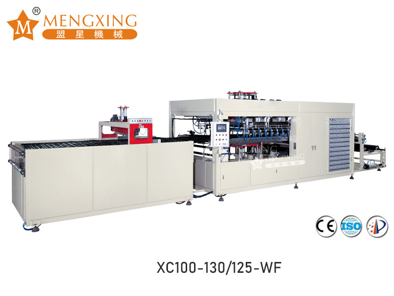 Mengxing fully auto plastic forming machine favorable price lunch box production-1
