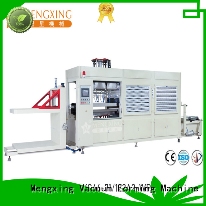 Mengxing fully auto plastic vacuum forming machine industrial easy operation