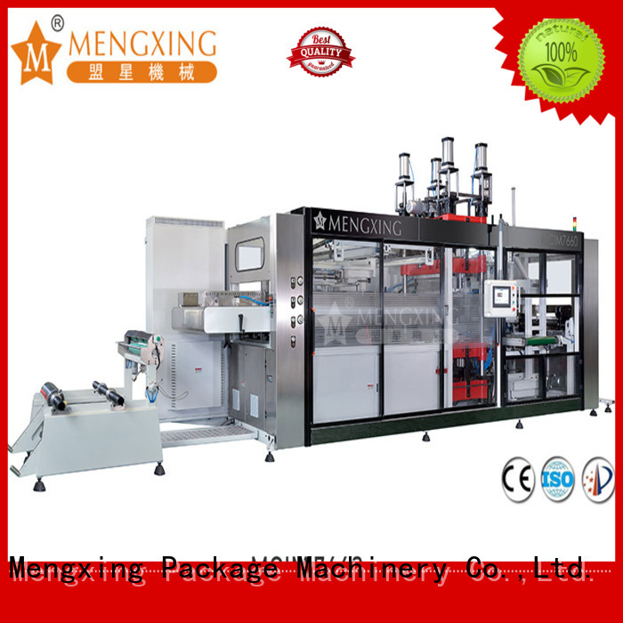 Mengxing high-performance plastic machine best factory supply easy operation