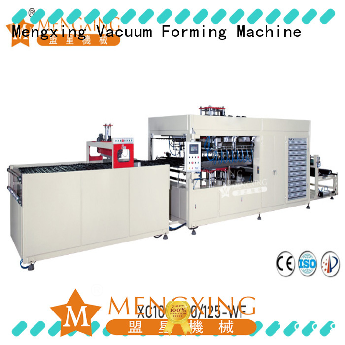 Mengxing fully auto large vacuum forming machine favorable price best factory supply