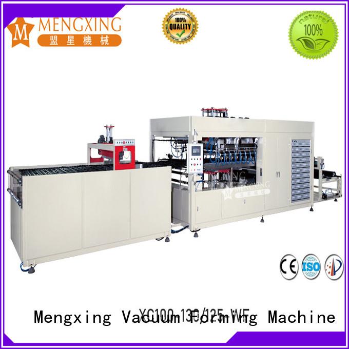 Mengxing vacuum forming machine plastic container making