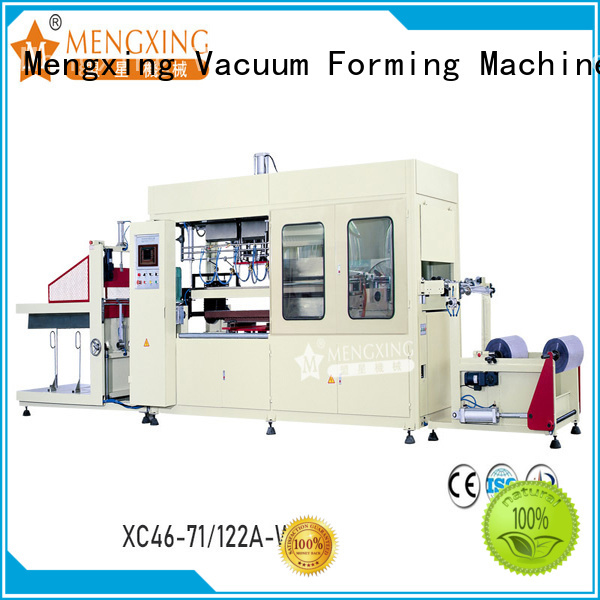 Mengxing top selling plastic vacuum forming machine favorable price best factory supply