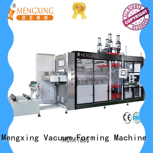 Mengxing plastic thermoforming machine best factory supply for sale