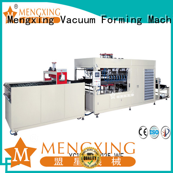 Mengxing vacuum forming machine for sale plastic container making best factory supply