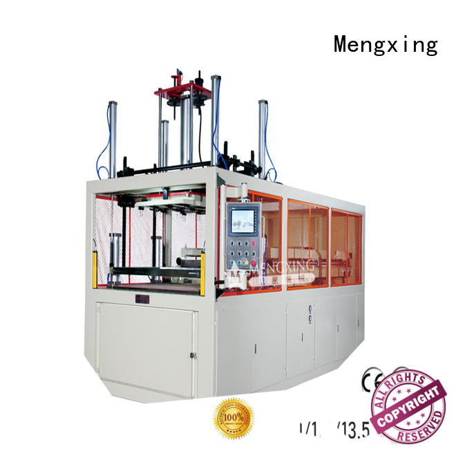 Mengxing top selling large vacuum forming machine plastic container making fast delivery