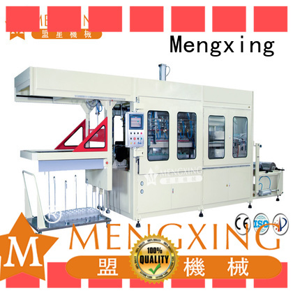 Mengxing oem vacuum forming machine for sale plastic container making