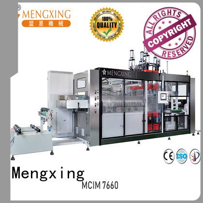 Mengxing easy-installation thermoforming machine best factory supply for sale