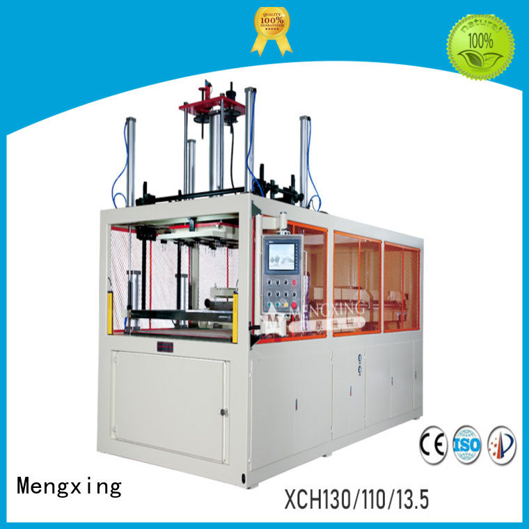 Mengxing top selling plastic vacuum forming machine plastic container making lunch box production