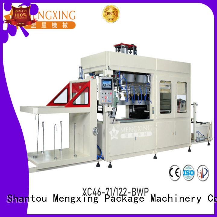 Mengxing custom vacuum forming machine favorable price lunch box production