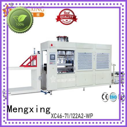 Mengxing plastic vacuum forming machine industrial best factory supply