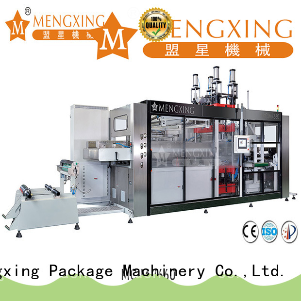 Mengxing vacuum forming plastic machine best factory supply easy operation