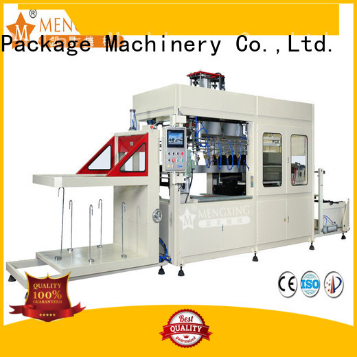 Mengxing large vacuum forming machine plastic container making best factory supply