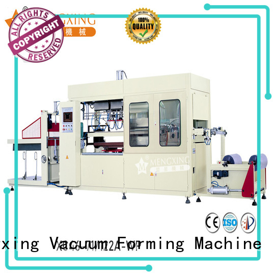 fully auto vacuum forming machine for sale plastic container making lunch box production