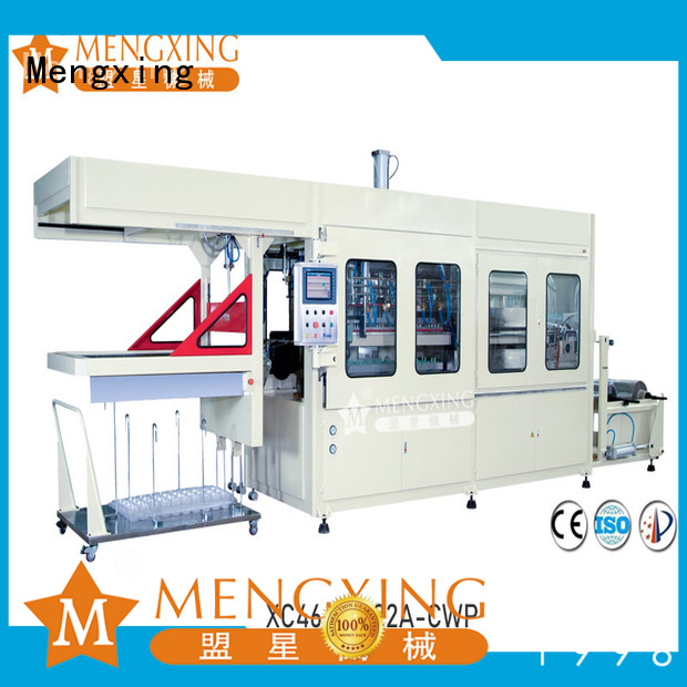 Mengxing fully auto industrial vacuum forming machine industrial easy operation
