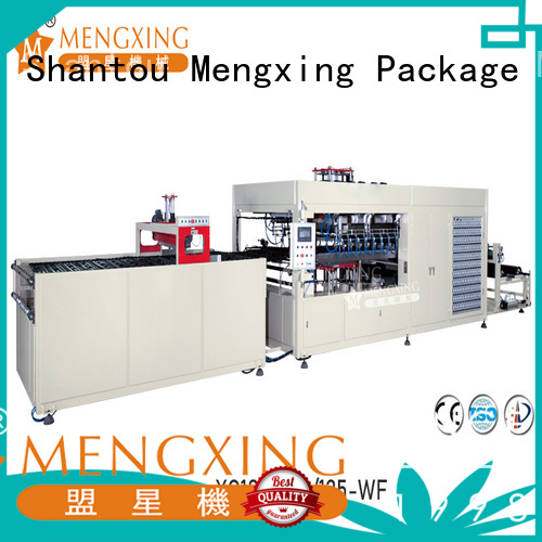 Mengxing fully auto vacuum forming machine for sale plastic container making fast delivery
