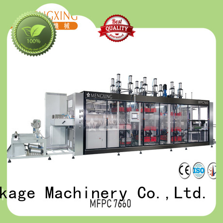 Mengxing vacuum forming plastic machine oem&odm easy operation