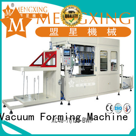 Mengxing large vacuum forming machine industrial lunch box production