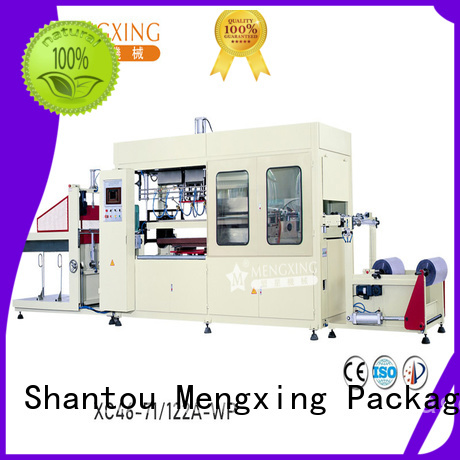 Mengxing fully auto large vacuum forming machine plastic container making easy operation