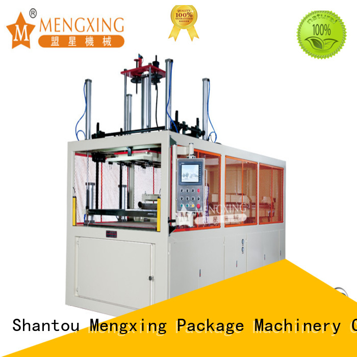Mengxing vacuum forming machine plastic container making fast delivery