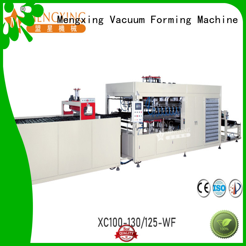 Mengxing oem vacuum forming machine industrial lunch box production