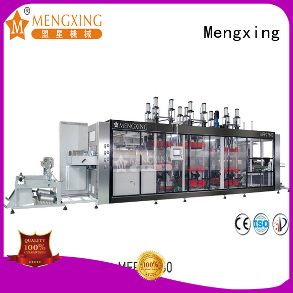 Mengxing high precision plastic thermoforming machine oem&odm for sale