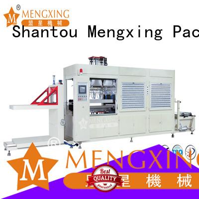 Mengxing plastic vacuum forming machine favorable price lunch box production