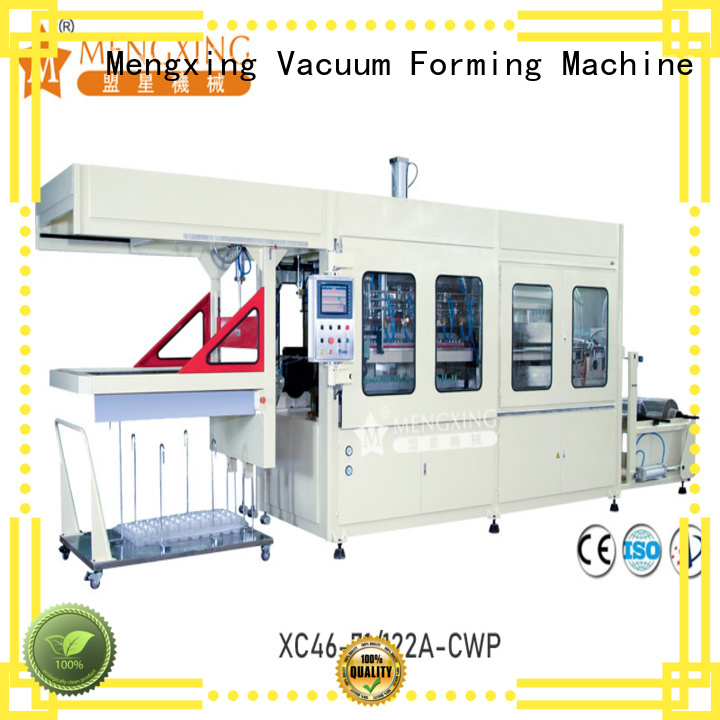 Mengxing large vacuum forming machine plastic container making easy operation