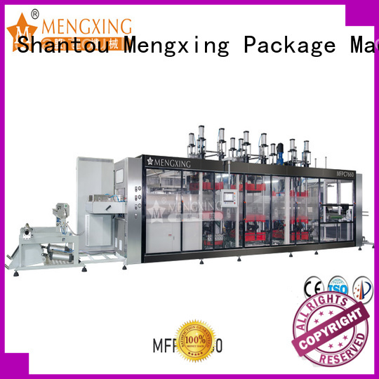 Mengxing high-performance thermoforming machine best factory supply efficiency