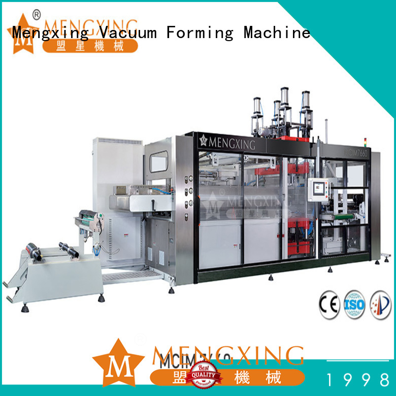 Mengxing easy-installation thermoforming machine best factory supply easy operation