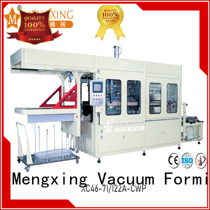 custom plastic vacuum forming machine favorable price easy operation