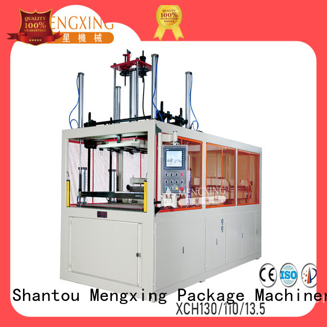 Mengxing custom industrial vacuum forming machine plastic container making fast delivery