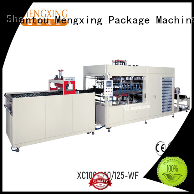 large vacuum forming machine lunch box production Mengxing
