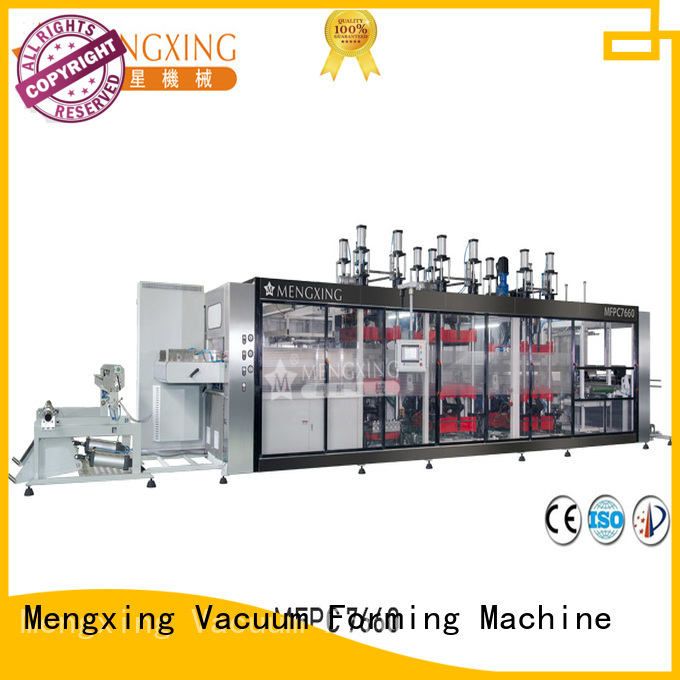Mengxing high precision vacuum moulding machine custom for sale