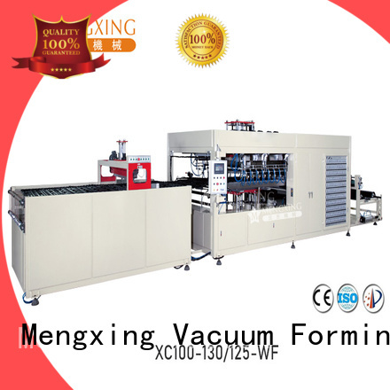 Mengxing fully auto large vacuum forming machine favorable price easy operation