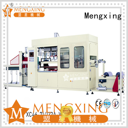 Mengxing oem pp vacuum forming machine favorable price