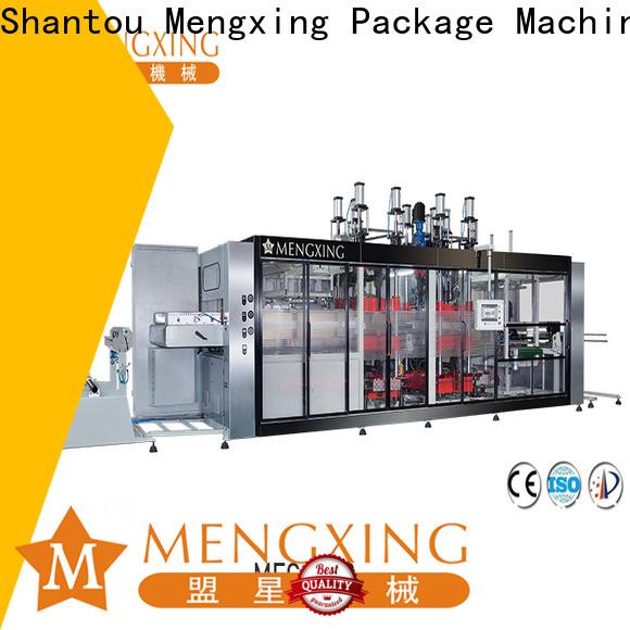 Mengxing vacuum forming plastic machine custom easy operation