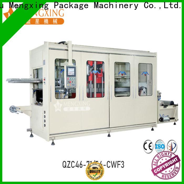 Mengxing vacuum forming plastic machine best factory supply efficiency