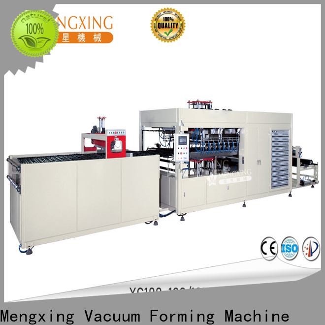 Mengxing fully auto plastic forming machine favorable price lunch box production