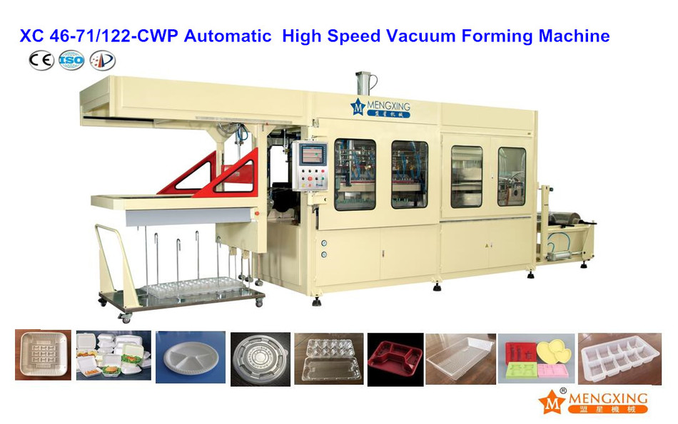 High-speed Vacuum Forming Machine Mengxing XC46-71/122A-CWP